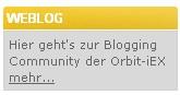 Orbit-iEX Blogging-Community