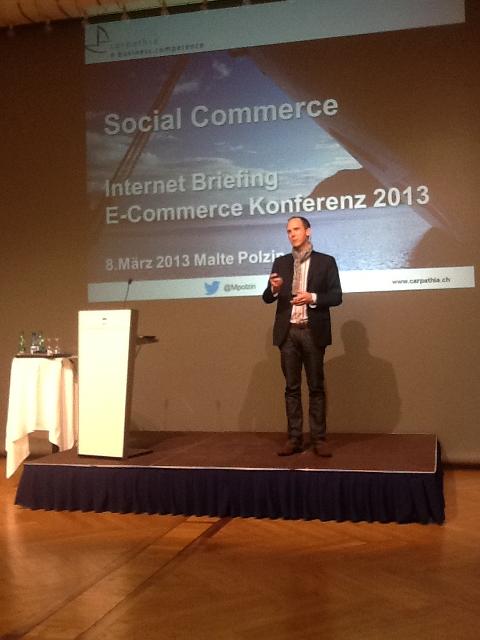Malte Polzin bespricht das Potenzial von Social Commerce für Schweizer Shops