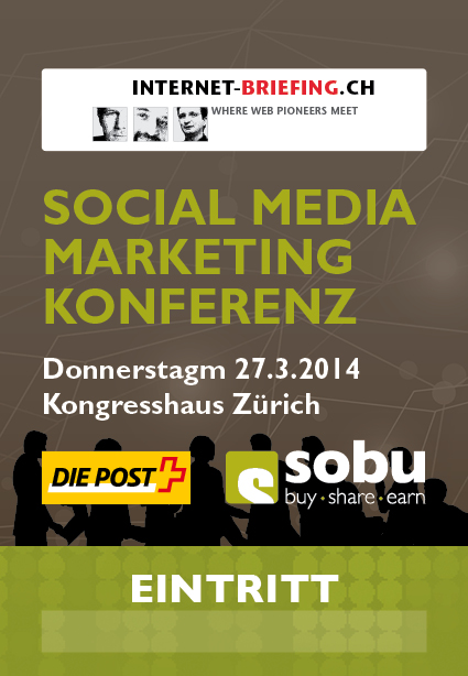Ticket Social Media Konferenz